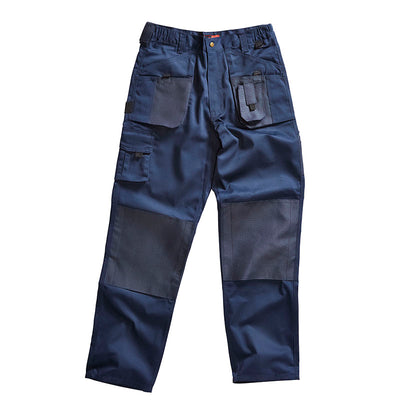 Blackrock Workman Cargo Combat Work Wear Trousers Navy