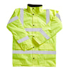 Blackrock High Visibility Coat Winter Fleece Lining Hi-Vis Yellow