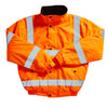 Blackrock Hi Vis FLEECE Lining Bomber Jacket Hi-Vis Orange