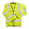 Blackrock Long Sleeved Hi Vis Vest Waistcoat Hi-Vis Yellow
