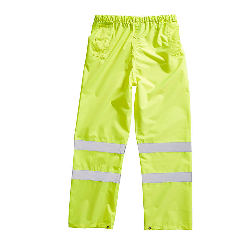 Blackrock Hi Vis Waterproof Over Trousers Hi-Vis Yellow / S