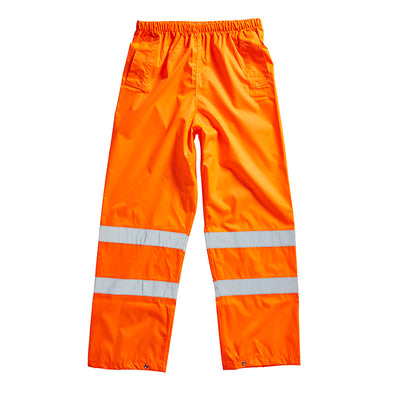 Blackrock Hi Vis Waterproof Over Trousers Hi-Vis Orange