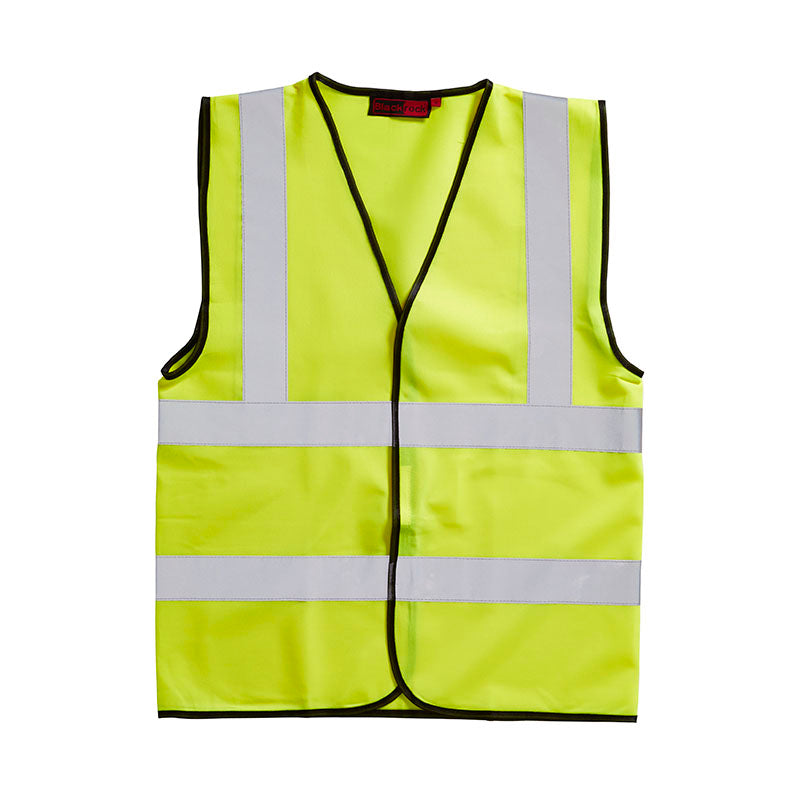 Blackrock Hi Vis Vest Safety Waistcoat Hi-Vis Yellow / S