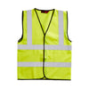 Blackrock Hi Vis Vest Safety Waistcoat Hi-Vis Yellow