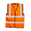 Blackrock Hi Vis Vest Safety Waistcoat Hi-Vis Orange