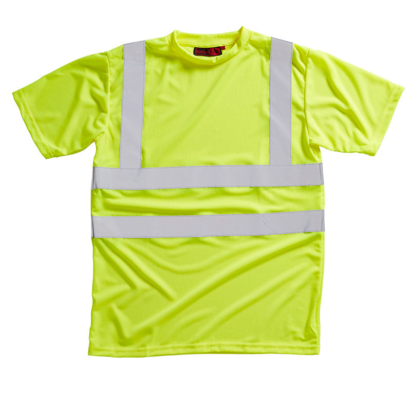 Blackrock Hi Vis T Shirt Crew Neck Hi-Vis Yellow / S