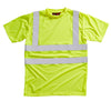 Blackrock Hi Vis T Shirt Crew Neck Hi-Vis Yellow