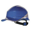 Delta Plus Diamond V Baseball Reversible Hard Hat Blue