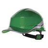 Delta Plus Diamond V Baseball Reversible Hard Hat Green