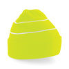 Beechfield Enhanced-Viz Beanie Fluorescent Yellow