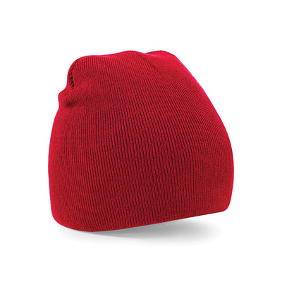 Beechfield Original Pull-On Beanie Classic Red
