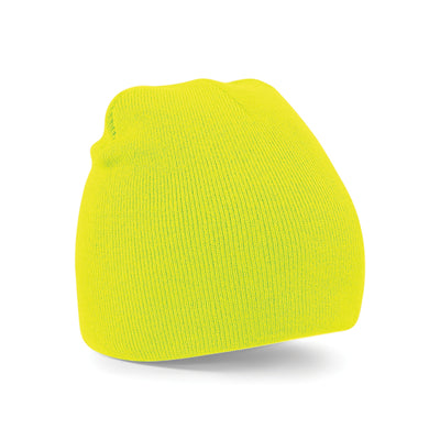 Beechfield Original Pull-On Beanie Fluorescent Yellow