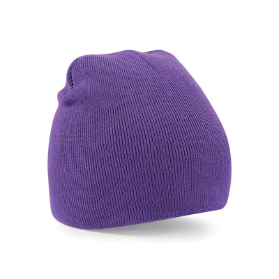 Beechfield Original Pull-On Beanie Purple