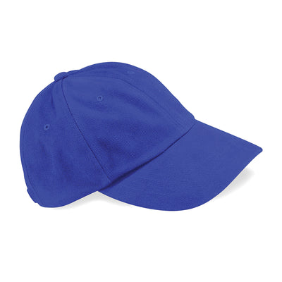 Beechfield Low Profile Heavy Brushed Cotton Cap Bright Royal