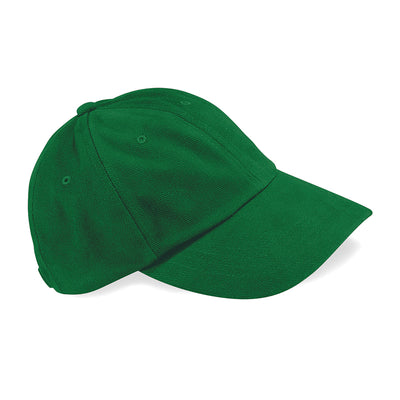 Beechfield Low Profile Heavy Brushed Cotton Cap Forest Green