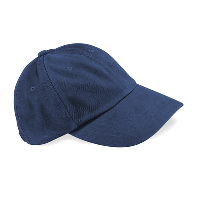 Beechfield Low Profile Heavy Brushed Cotton Cap Navy