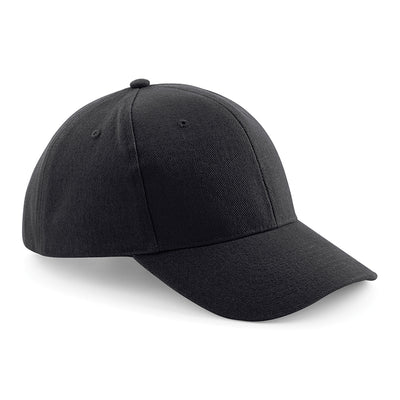Beechfield Pro-Style Heavy Brushed Cotton Cap Black