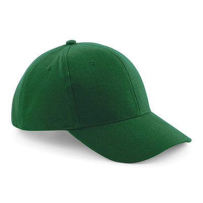 Beechfield Pro-Style Heavy Brushed Cotton Cap Forest Green