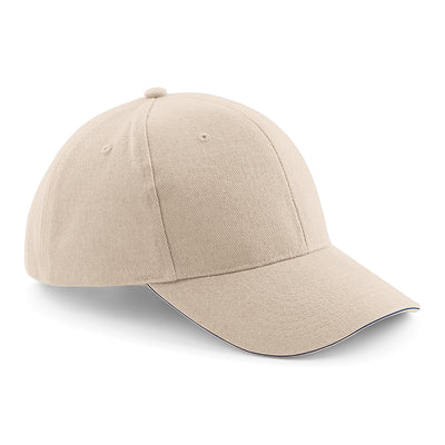 Beechfield Pro-Style Heavy Brushed Cotton Cap Stone
