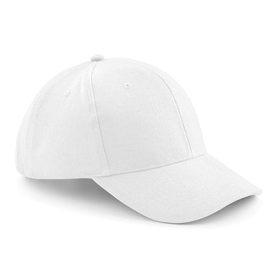 Beechfield Pro-Style Heavy Brushed Cotton Cap White