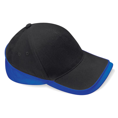 Beechfield Teamwear Competition Cap Black / Bright Royal