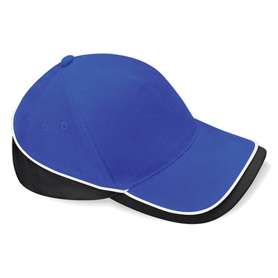 Beechfield Teamwear Competition Cap Bright Royal / Black / White