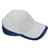 Beechfield Teamwear Competition Cap Bright Royal / French Navy / Light Grey