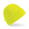 Beechfield Suprafleece Ski Hat Fluorescent Yellow