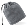Beechfield Suprafleece Snood/Hat Combo Charcoal