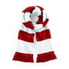 Beechfield Varsity Scarf Classic Red / White