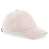Beechfield Faux Suede 6 Panel Cap Dusty Pink