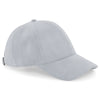 Beechfield Faux Suede 6 Panel Cap Grey