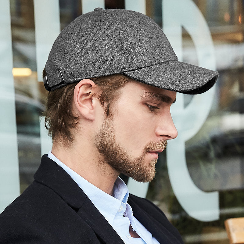 Beechfield Melton Wool 6 Panel Cap