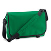 BagBase BG21 Messenger Bag Kelly Green