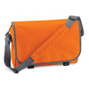 BagBase BG21 Messenger Bag Orange / Graphite Grey