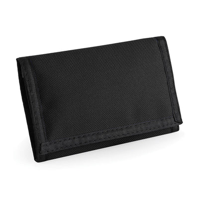 BagBase BG40 Ripper Wallet Black