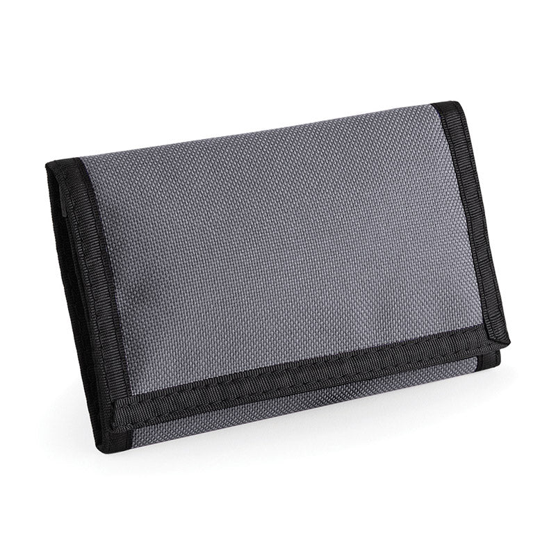 BagBase BG40 Ripper Wallet Graphite Grey