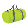 BagBase BG150 Packaway Barrel Bag Lime Green