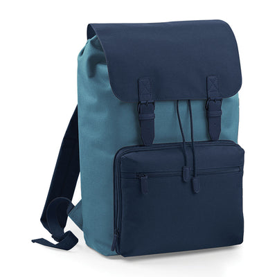 BagBase BG613 Vintage Laptop Backpack Airforce Blue / French Navy