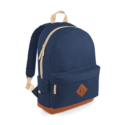 BagBase BG825 Heritage Backpack French Navy