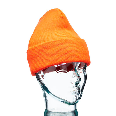 Blackrock Hi Vis Knitted Thinsulate Beanie Hat Hi-Vis Orange