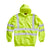 Blackrock Yellow Hi Vis Zipped Hoodie Sweatshirt