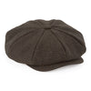 Beechfield Newsboy Brown Herringbone Cap B628
