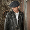 Beechfield Wool Baker Boy Cap Male Model B629