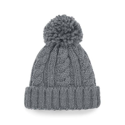 Beechfield Childrens Beanie Hat Close Up