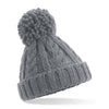 Beechfield Childrens Beanie Hat Grey