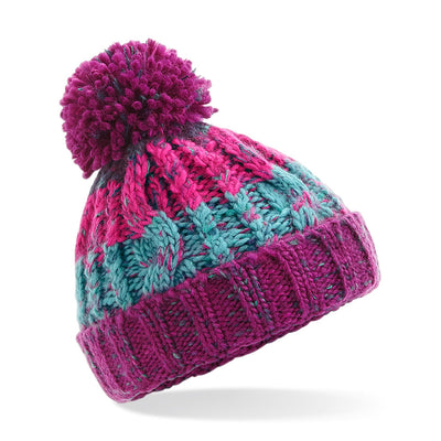 Beechfield Children's Red Beanie
