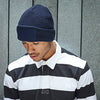 Man Wearing Beechfield Thinsulate Beanie Hat B440