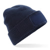 Beechfield Thinsulate Navy Beanie Hat B440