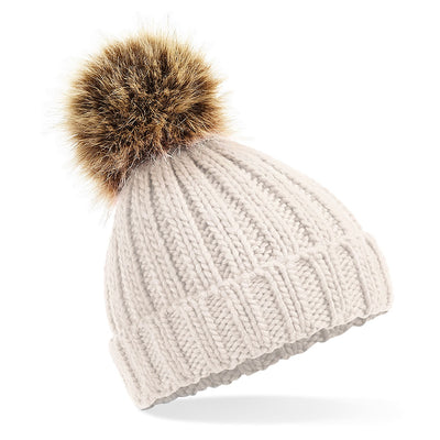 Beechfield Toddlers Beanie Hat in Oatmeal